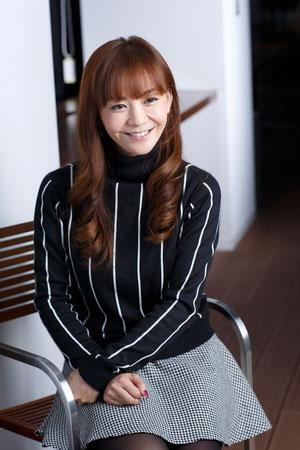 <写真>心境を打ち明ける華原朋美(2013年12月22日)