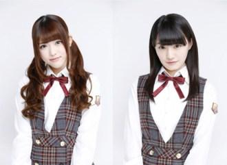 <写真>ニコ超会議に初出演する松村沙友理(左)と中田花奈