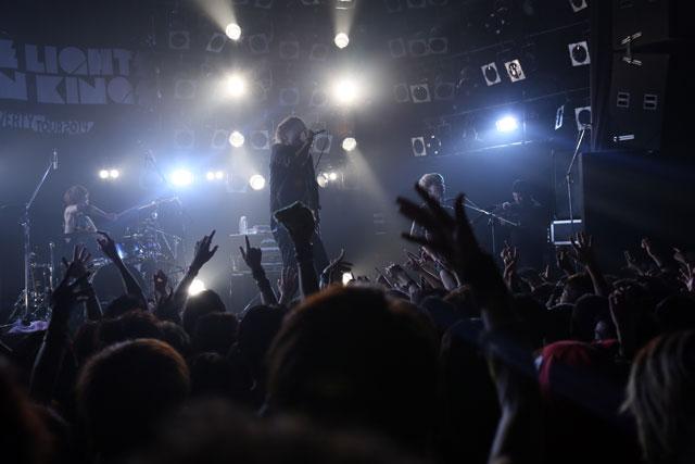 <写真>名古屋で全国ツアーファイナルを迎えたサンエル(1)