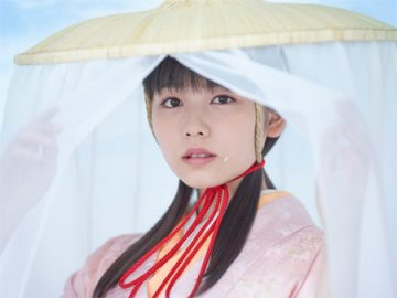 CMの一コマ。女優の小芝風花がCMキャラクターとして出演