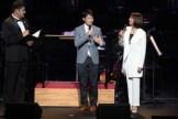 左から司会を務めた、藤本隆宏、トークゲストの小塚宗彦氏と小谷実可子さん