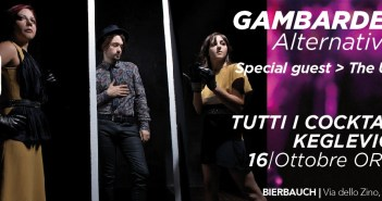 Gambardellas + The Upgraders - 16 ottobre, Bierbauch, Cologne (BS)