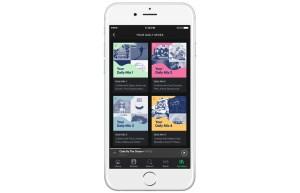Spotify Daily Mix screenshot