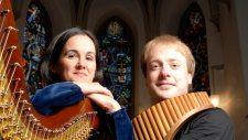 Panflöte und Harfe, Matthias Schlubeck, Panflöte; Isabel Moretón, Harfe