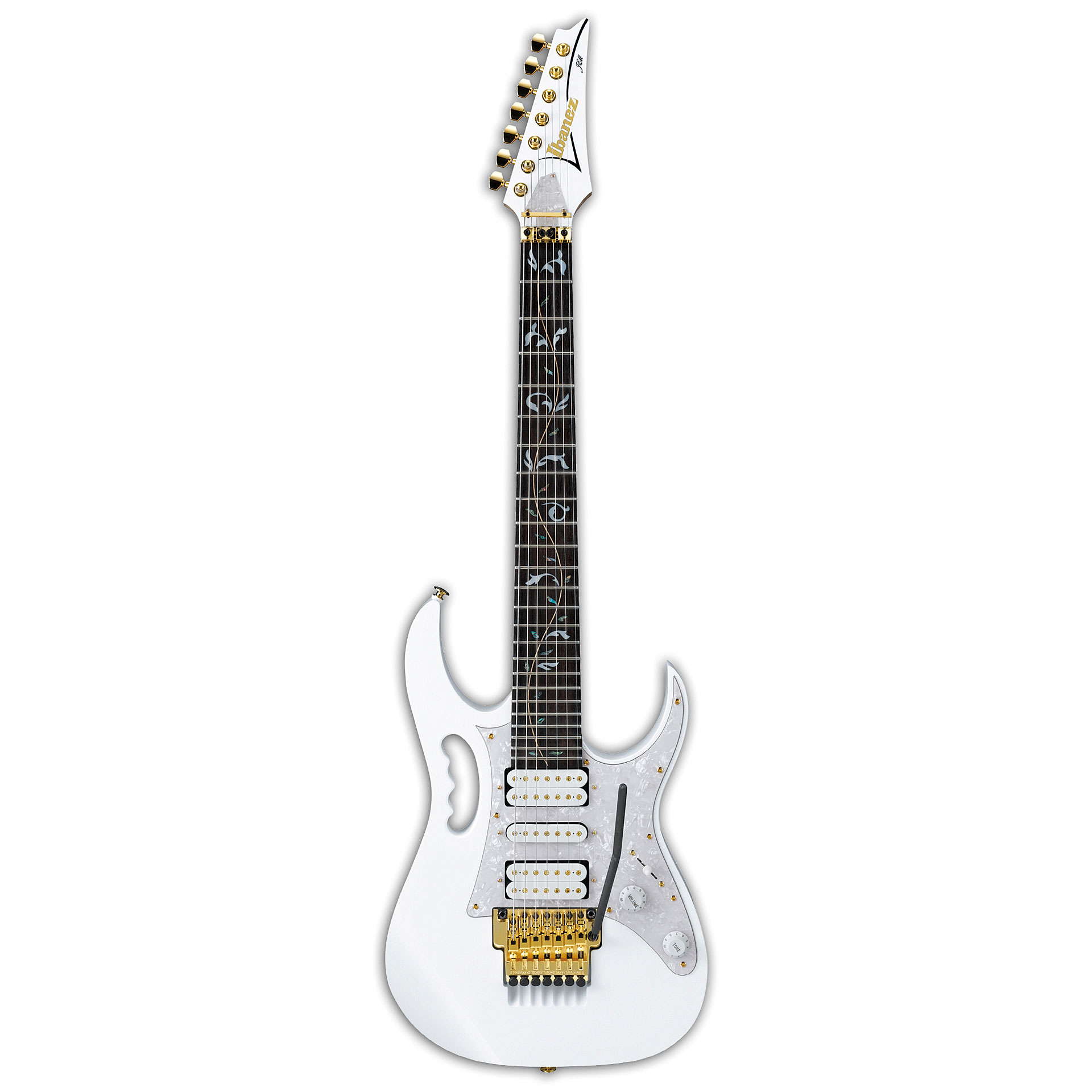 Ibanez Jem7v7 Wh Steve Vai E Gitarre