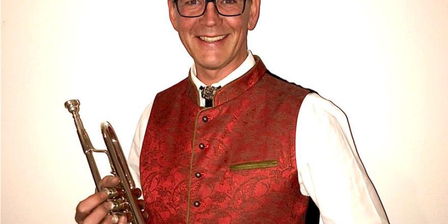 Tommy Saliger - Komponist, 1.Trompeter und Kapellmeister der Marktkapelle Perlesreut