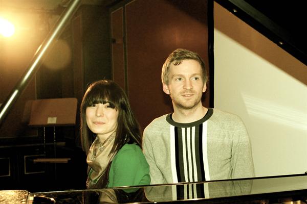 Ólafur Arnalds & Sara Alice Ott (Credit Annett Bonkowski/MusikBlog)