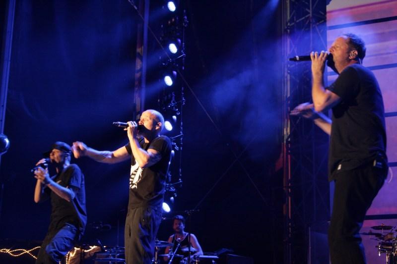 Die Fantastischen Vier (Credit Alexander Mühlmann/MusikBlog)