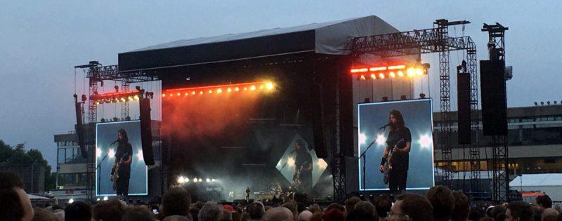 Foo Fighters (Credit Friedrich Kuehne/MusikBlog)