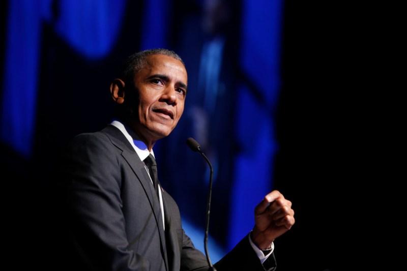 Barack Obama (Credit Jason DeCrow)