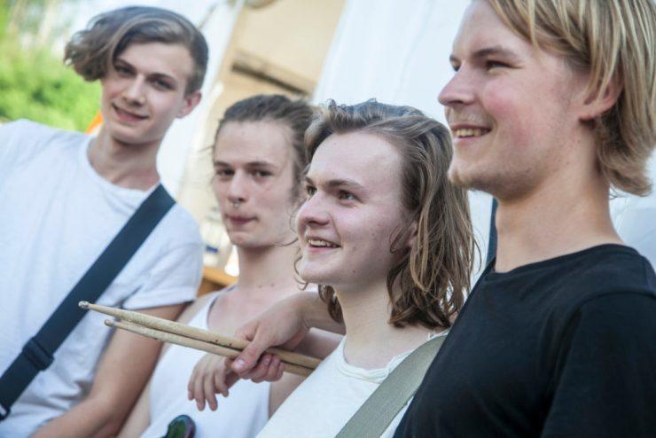 When We Talk vandt en dag i PIgsty Studio. Foto: Guldbæk festival