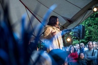 Jada spiller på Heartland torsdag den 31. maj 2018. (Fotograf: Helle Arensbak)