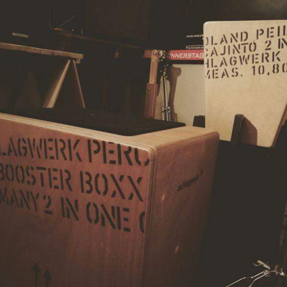 Cajon Kurs für Fortgeschrittene Musikerfabrik Stendal