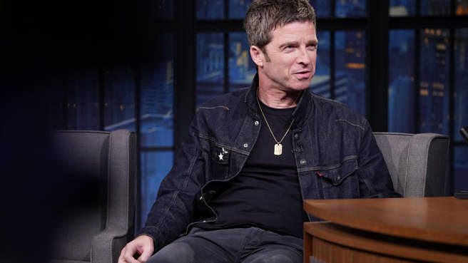 """Noel Gallagher am 6. August 2019 bei """"Late Night With Seth Meyers"""""""