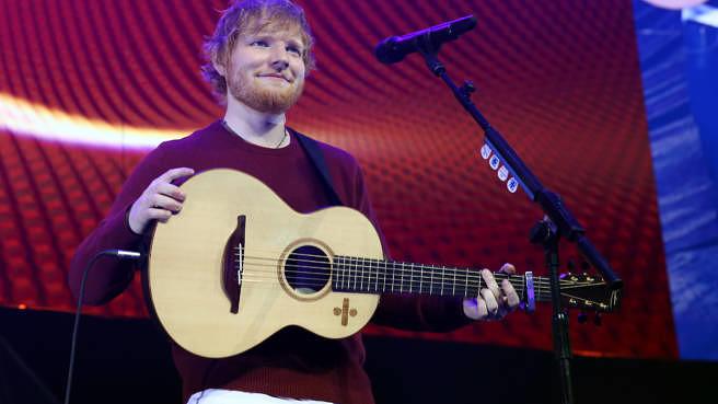 Ed Sheeran live im November 2018 in London