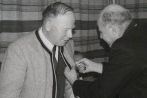 Fritz Fischer war zwanzig Jahre lang, von 1945 bis 1965, Kapellmeister der Musikkapelle Mieming, der 1. Nachkriegs-Kapellmeister. Foto: Musikkapelle Mieming / Chronik