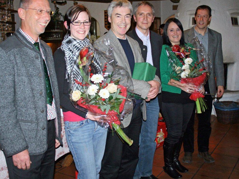 Andreas Fischer verabschiedet, Cäcilienfeier 2011, Foto: Knut Kuckel