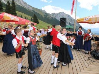 Hochfeldern Almfest - Mieming feierte ein Dorffest im Gaistal, Foto: Knut Kuckel