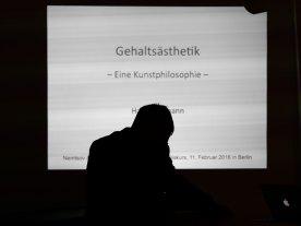 Lehmanns Gehaltsästhetik vorgestellt in der bei nemtsov & nemtsov. Foto: Hufner
