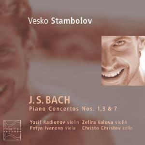 Vesko Stambolov, Bach, Piano Concertos Nos. 1, 3 & 7 meta records 022,