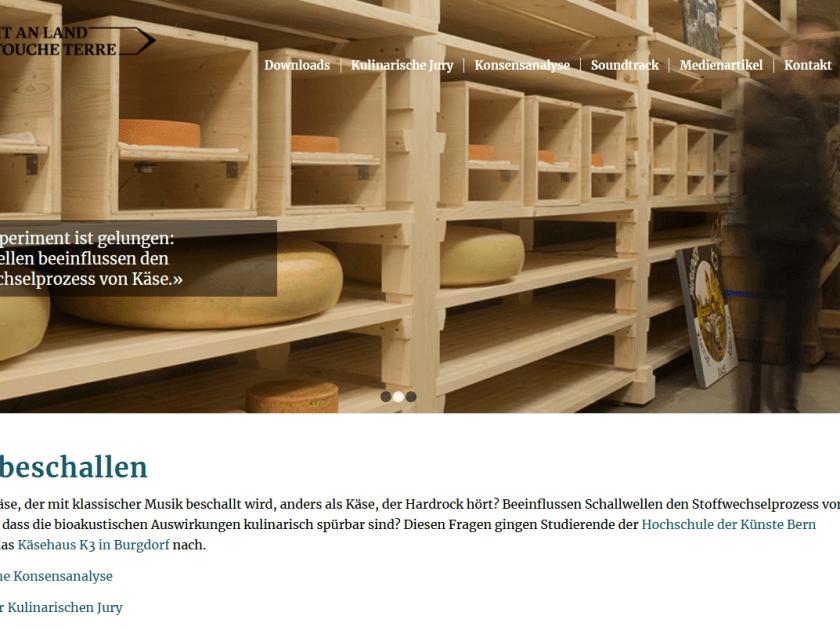 Schmeckt Käse, der mit klassischer Musik beschallt wird, anders als Käse, der Hardrock hört?