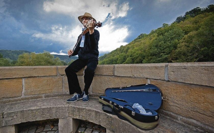 Musik auf Abstand. Foto: Martin Hufner