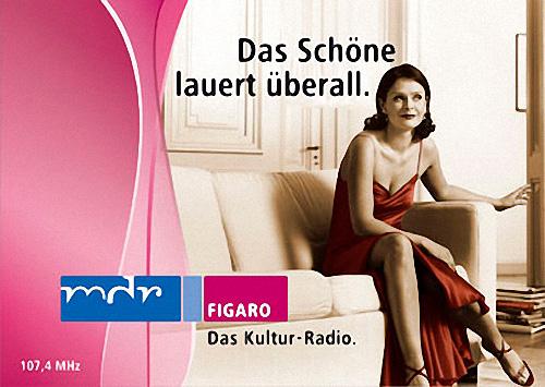 MDR-Slogan und Werbung um 2005.