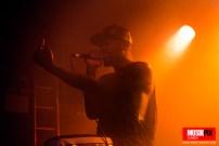 ATARI TEENAGE RIOT perform in London