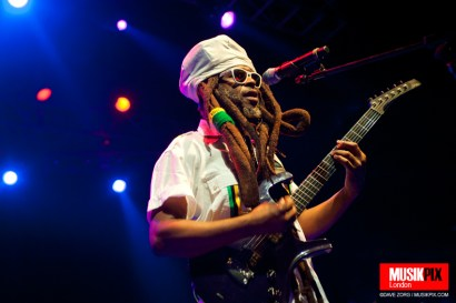 David Hinds of Steel Pulse performs live at The Forum in London