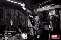 Finish alternative rock band Grave Pleasures performed live in London