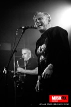 Post-punk band Theatre Of Hate perform live at The Garage in London