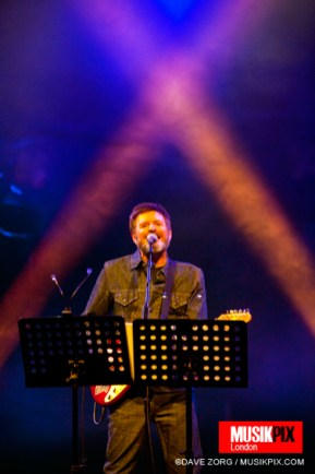 New Wave band Scritti Politti performed live at The Roundhouse in London