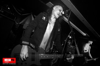 Swedish punk band Zero Zero performed live as part of Death Time ASSembly at The Pipeline in London.