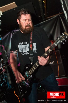 South Wales punk band The Sick Livers performed live at The Pipeline in London, on the second date of Deathtime Assembly.