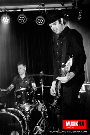 London based powerpop band Los Pepes performed live at Nambucca in London