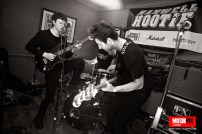 German rock band Sparkling performed live at the Prince Of Wales in Hanwell, as part of The Hanwell Hootie music festival