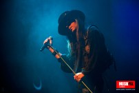 Goth band Fields Of The Nephilim performed live at the O2 Forum Kentish Town celebrating the summer solstice with a very rare live performance of songs from their hugely acclaimed masterpiece 'Elizium'.