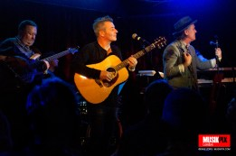 English pop/rock band China Crisis performed live at The Borderline in London as part of their China Greatness Live 2016 tour