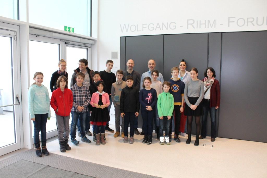 Besuch beim Familienkonzert der Musikhochschule