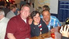 Patrick, Sabine und Horst zu vorgerückter Stunde