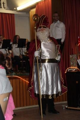 Nikolaus vor der Bescherung