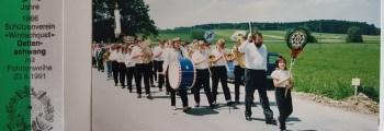 23. Juni 1991: erste Teilnahme am Festumzug