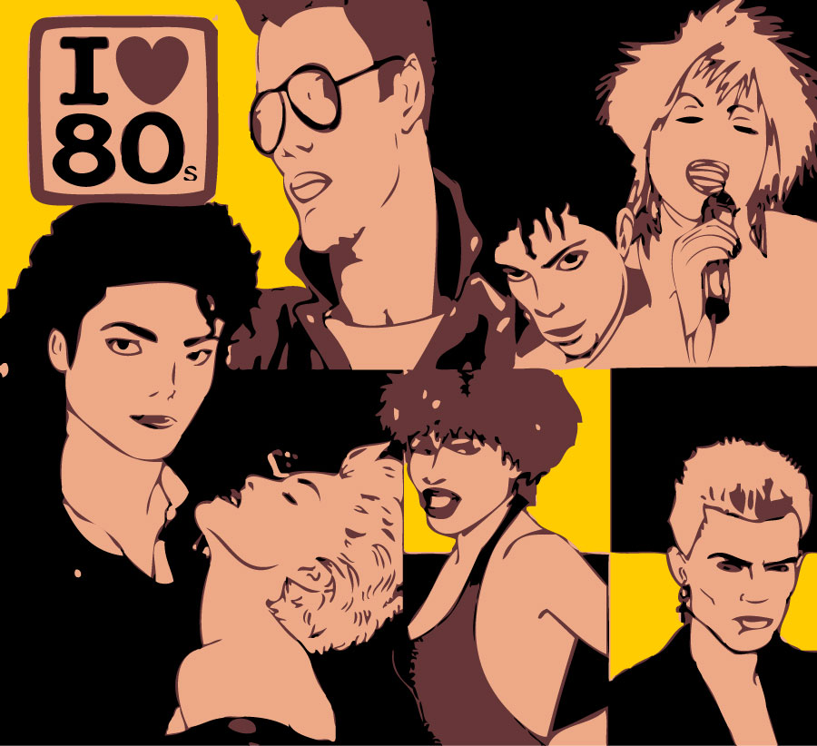 Image result for 80s music