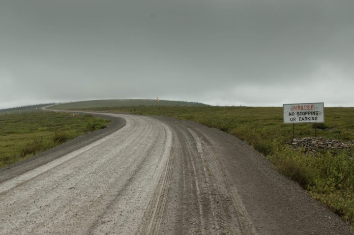 Airstrip near the Arctic Circle