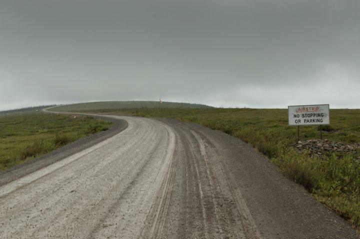 Airstrip near the Arctic Circle