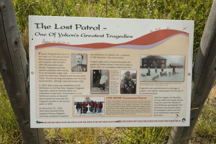 The Lost Patrol Plaque