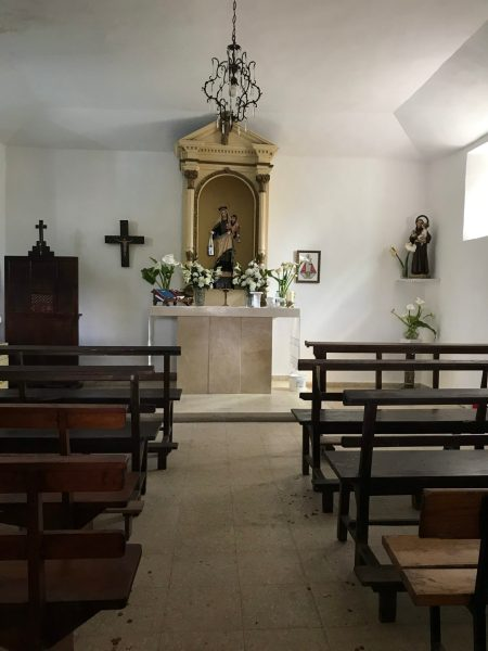 Capilla del Carmen-in the village of Lampajúa