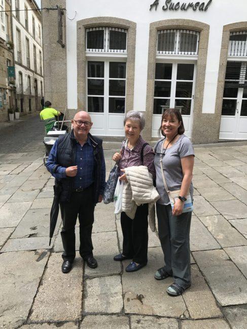 John, Sr. Catherine, and Irene