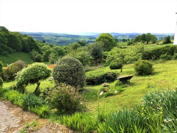 Beautiful landscape leaving Grandas de Salime