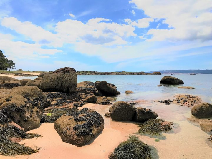 The natural beauty of the beaches of Illa de Arousa